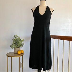 GAP Black Halter Dress